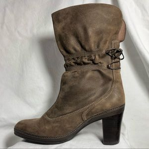 Clark's Artisan Collection - brown leather boots